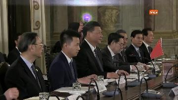 4 - Xi Jinping incontra la Casellati al Senato
