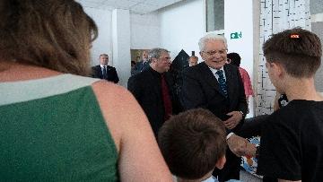 1 - Il presidente Mattarella al Centro Italiano di Solidarietà Don Mario Picchi