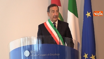 3 - Mattarella alla cerimonia dei 25 anni dell'Istituto di Oncologia dello IEO