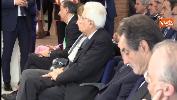 1 - Mattarella alla cerimonia dei 25 anni dell'Istituto di Oncologia dello IEO