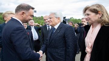 1 - Il Presidente Mattarella al 75° anniversario della battaglia di Montecassino.