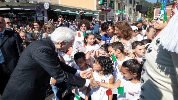 2 - Mattarella visita il Santuario di Santa Maria della Vittoria a Scurcola Marsicana