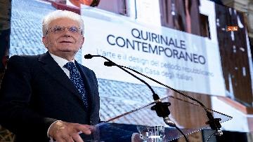 1 - Mattarella all'inaugurazione dell'iniziativa