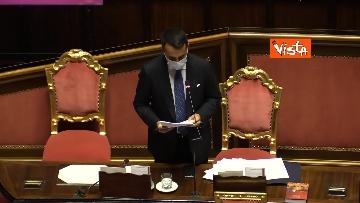 5 - Informativa del ministro Di Maio nell'aula del Senato. Le foto
