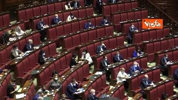 8 - Comunicazioni di Draghi al Senato in vista del Consiglio europeo. Le foto