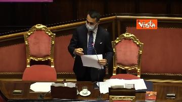 8 - Informativa del ministro Di Maio nell'aula del Senato. Le foto