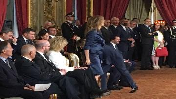 5 - Il giuramento di Stefani, Ministro agli Affari Regionali