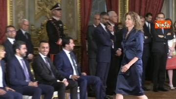 4 - Il giuramento di Stefani, Ministro agli Affari Regionali