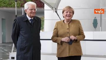 4 - Il Presidente Mattarella a Berlino incontra Angela Merkel