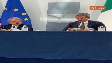 5 - Green pass lavoratori, conferenza stampa con i ministri Orlando, Brunetta e Speranza. Le foto