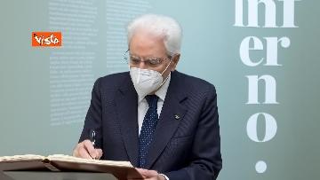 2 - Mattarella inaugura la mostra