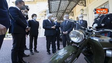 6 - Presentate a Mattarella due nuove moto Guzzi per Corazzieri