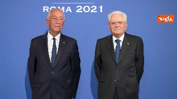 """14 - Mattarella ospita il 16esimo incontro dei capi di Stato del """"Gruppo Arraiolos"""", le immagini"""