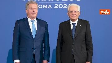 """3 - Mattarella ospita il 16esimo incontro dei capi di Stato del """"Gruppo Arraiolos"""", le immagini"""
