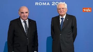 """6 - Mattarella ospita il 16esimo incontro dei capi di Stato del """"Gruppo Arraiolos"""", le immagini"""