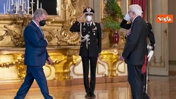 """4 - Mattarella ospita il 16esimo incontro dei capi di Stato del """"Gruppo Arraiolos"""", le immagini"""