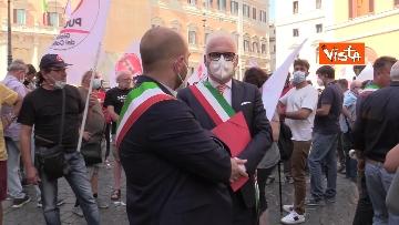 3 - Protesta a Montecitorio per l'equità territoriale Nord-Sud. Le foto