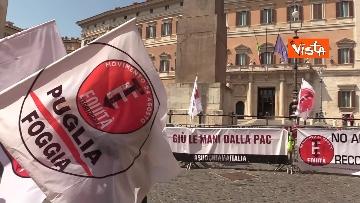 8 - Protesta a Montecitorio per l'equità territoriale Nord-Sud. Le foto