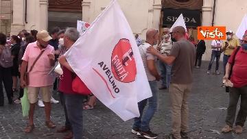 6 - Protesta a Montecitorio per l'equità territoriale Nord-Sud. Le foto