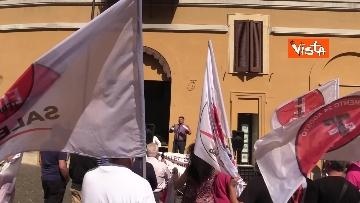 5 - Protesta a Montecitorio per l'equità territoriale Nord-Sud. Le foto