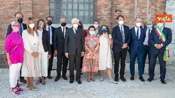 6 - Mattarella visita la Biennale di Architettura a Venezia con Franceschini e Zaia