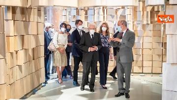 12 - Mattarella visita la Biennale di Architettura a Venezia con Franceschini e Zaia