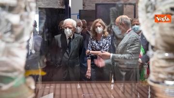 2 - Mattarella visita la Biennale di Architettura a Venezia con Franceschini e Zaia