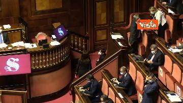 1 - Informativa del ministro Di Maio nell'aula del Senato. Le foto