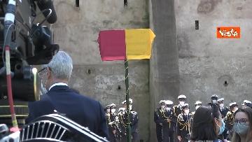 """1 - Targa in memoria di Ciampi non viene scoperta perché """"danneggiata"""", nome Presidente sbagliato"""
