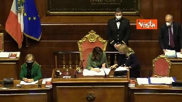 4 - Informativa del ministro Di Maio nell'aula del Senato. Le foto