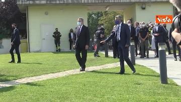 2 - Draghi depone corona alloro al memoriale in ricordo delle vittime di Amatrice