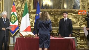 1 - Il giuramento di Stefani, Ministro agli Affari Regionali