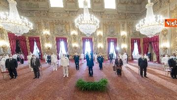 7 - 160 anni Marina Militare, Mattarella riceve Giuseppe Cavo Dragone, capo di stato maggiore
