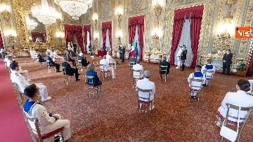 6 - 160 anni Marina Militare, Mattarella riceve Giuseppe Cavo Dragone, capo di stato maggiore