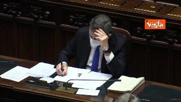 6 - Comunicazioni di Draghi al Senato in vista del Consiglio europeo. Le foto