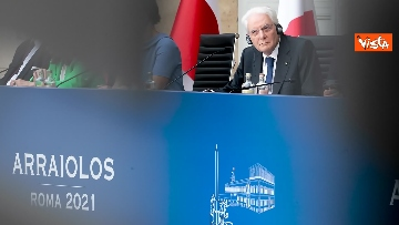 """9 - Mattarella ospita il 16esimo incontro dei capi di Stato del """"Gruppo Arraiolos"""", le immagini"""