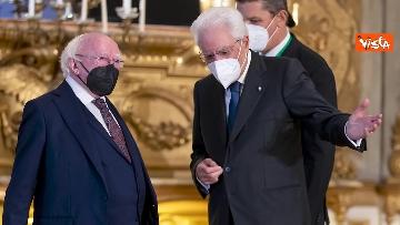 """11 - Mattarella ospita il 16esimo incontro dei capi di Stato del """"Gruppo Arraiolos"""", le immagini"""