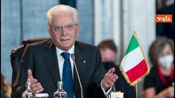 """10 - Mattarella ospita il 16esimo incontro dei capi di Stato del """"Gruppo Arraiolos"""", le immagini"""
