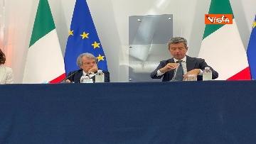 2 - Green pass lavoratori, conferenza stampa con i ministri Orlando, Brunetta e Speranza. Le foto