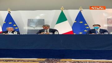 9 - Green pass lavoratori, conferenza stampa con i ministri Orlando, Brunetta e Speranza. Le foto