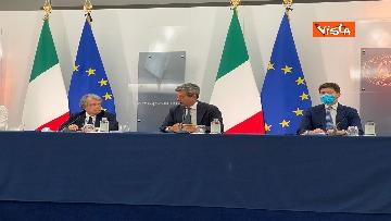 4 - Green pass lavoratori, conferenza stampa con i ministri Orlando, Brunetta e Speranza. Le foto