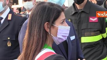 1 - Attentati dell'11 settembre, Di Maio e Raggi alla cerimonia per i 20 anni a Roma. Le foto