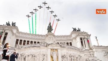 1 - 2 Giugno, Mattarella depone corona all'Altare della Patria. Le immagini