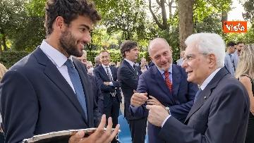 12 - L'Italia campione d'Europa arriva al Quirinale per incontrare Mattarella. Le immagini
