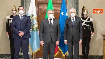 5 - Mattarella riceve i Capitani Reggenti della Repubblica di San Marino