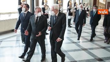 4 - Mattarella riceve i Capitani Reggenti della Repubblica di San Marino