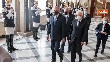 3 - Mattarella riceve il Presidente della Repubblica della Bulgaria