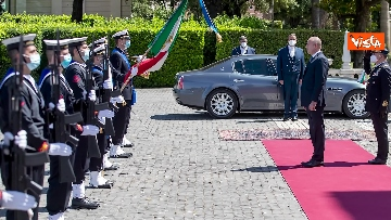 8 - Mattarella riceve il Presidente della Repubblica della Bulgaria
