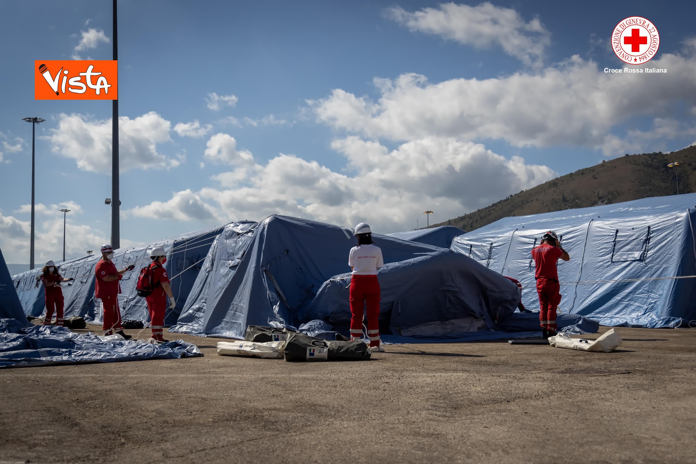 27-08-21 I profughi afghani accolti nel centro della Croce Rossa di Avezzano_03