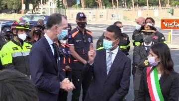 3 - Attentati dell'11 settembre, Di Maio e Raggi alla cerimonia per i 20 anni a Roma. Le foto